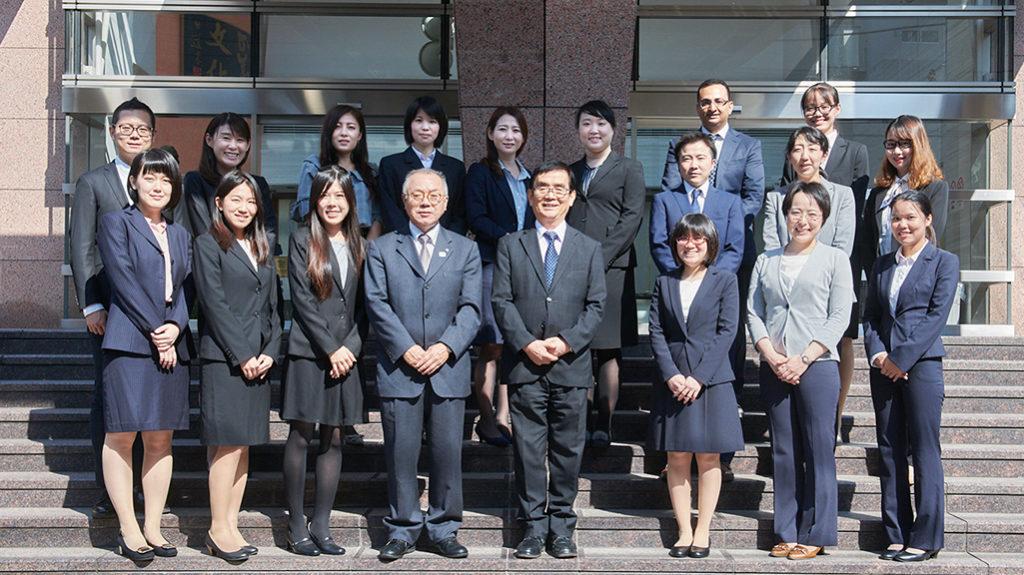 Staff del Sendagaya Japanese Institute