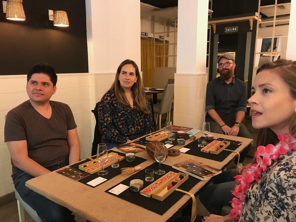 Networking + Cultura y cocina japonesa: degustación.