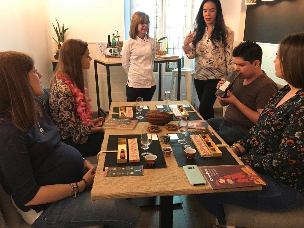 Networking + Cultura y cocina japonesa: chocolates.