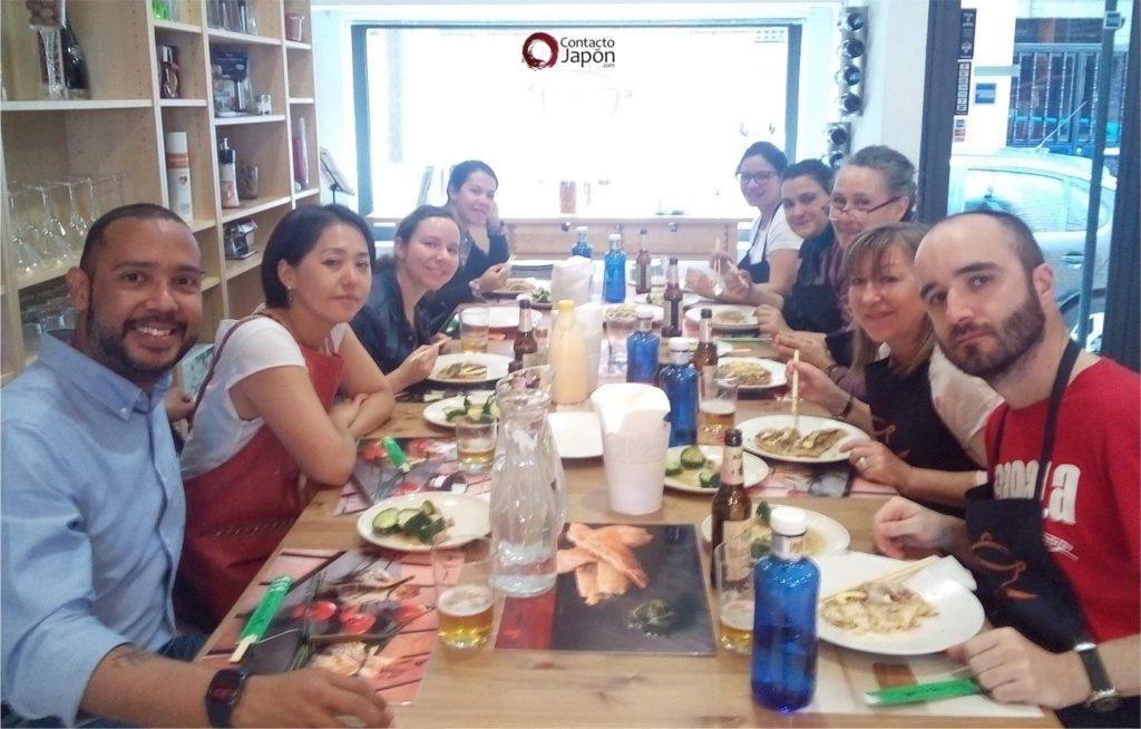 Networking + Cultura y cocina japonesa: Okonomiyaki.